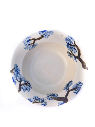Deep pine plate