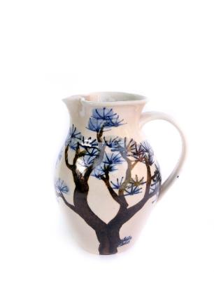 Large pine tree jug