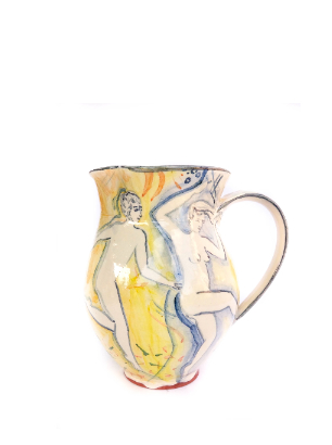 Tall Yellow jug